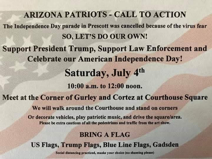 Patriot Rally flyer